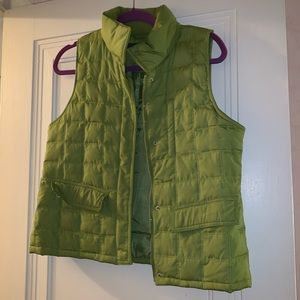 Kenneth Cole olive green vest